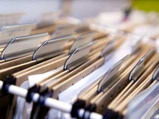 Büro - Hängeregister