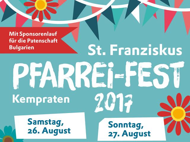 Pfarreifest Kempraten